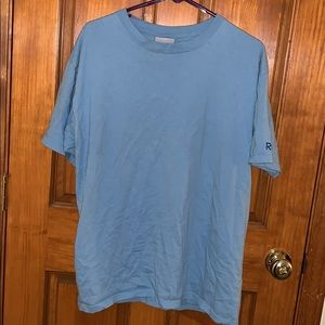 Men's Light Blue Reebok Shirt